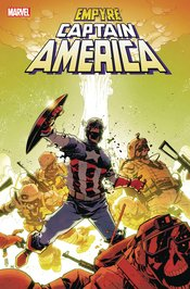 EMPYRE CAPTAIN AMERICA #2 (OF 3) [(W) Phillip Kennedy Johnson (A) Ariel Olivetti (CA) Mike Henderson]