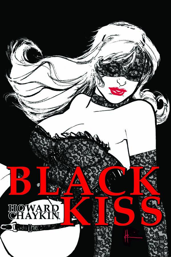 BLACK KISS HC [by Howard Chaykin]